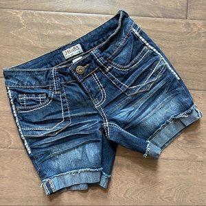 Mudd Dark Denim Jean Shorts Juniors o